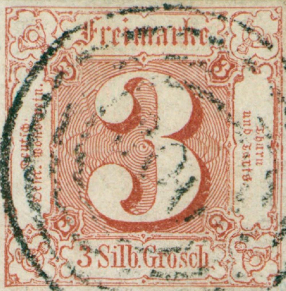 Thurn_und_Taxis_1861_Mi17_3Sgr_Genuine