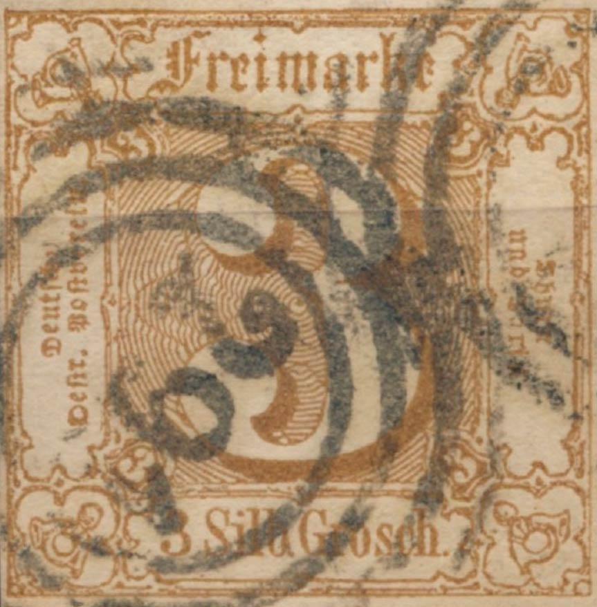 Thurn_und_Taxis_1863_Mi31_3Sgr_Genuine