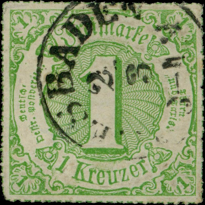 Thurn_und_Taxis_1866_Mi51_1Kr_Genuine