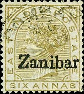 Zanzibar_India_6a_Forged_Overprint
