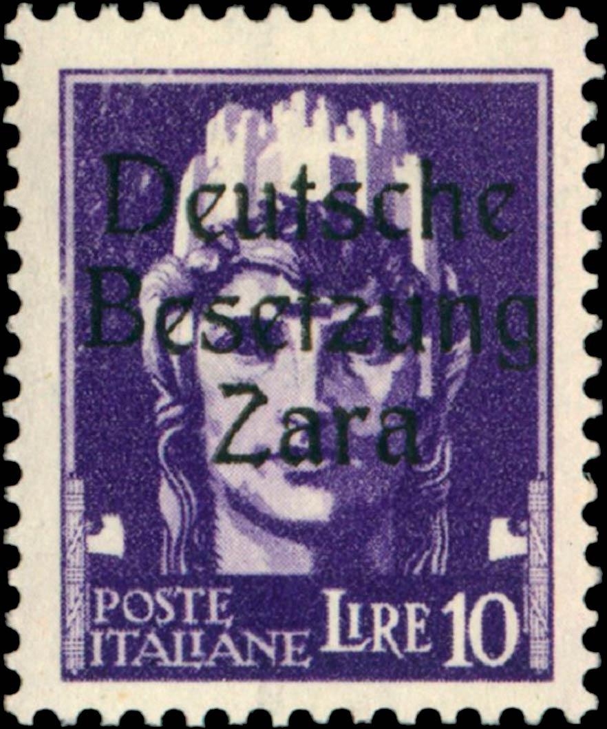 Zara_1943_Mi-16_Deutsche_Besetzung_10l_Type_2_Geunine