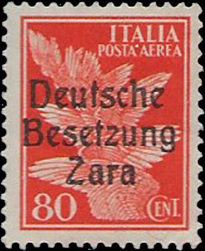Zara_1943_Mi-26_Deutsche_Besetzung_80c_Forgery
