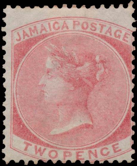 Jamaica_1860_Queen_Victoria_2p_Genuine
