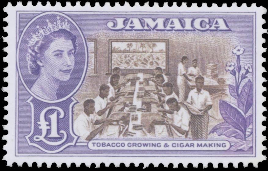 Jamaica_1953-56_QE2_1pound_Forgery
