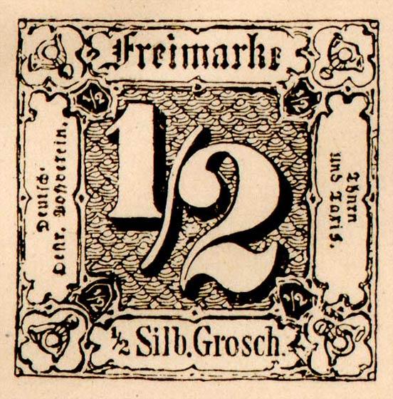 Thurn_und_Taxis_1852_Mi3_1-2Sgr_Fournier_Forgery