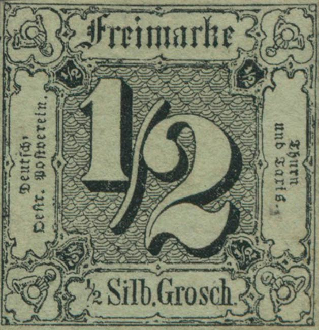 Thurn_und_Taxis_1852_Mi3_1-2Sgr_Genuine