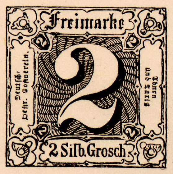 Thurn_und_Taxis_1852_Mi5_2Sgr_Fournier_Forgery