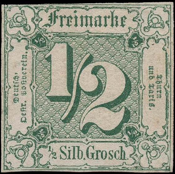 Thurn_und_Taxis_1859_Mi14_1-2Sgr_Genuine