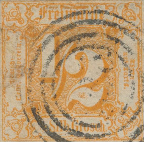 Thurn_und_Taxis_1862_Mi28_1-2Sgr_Genuine