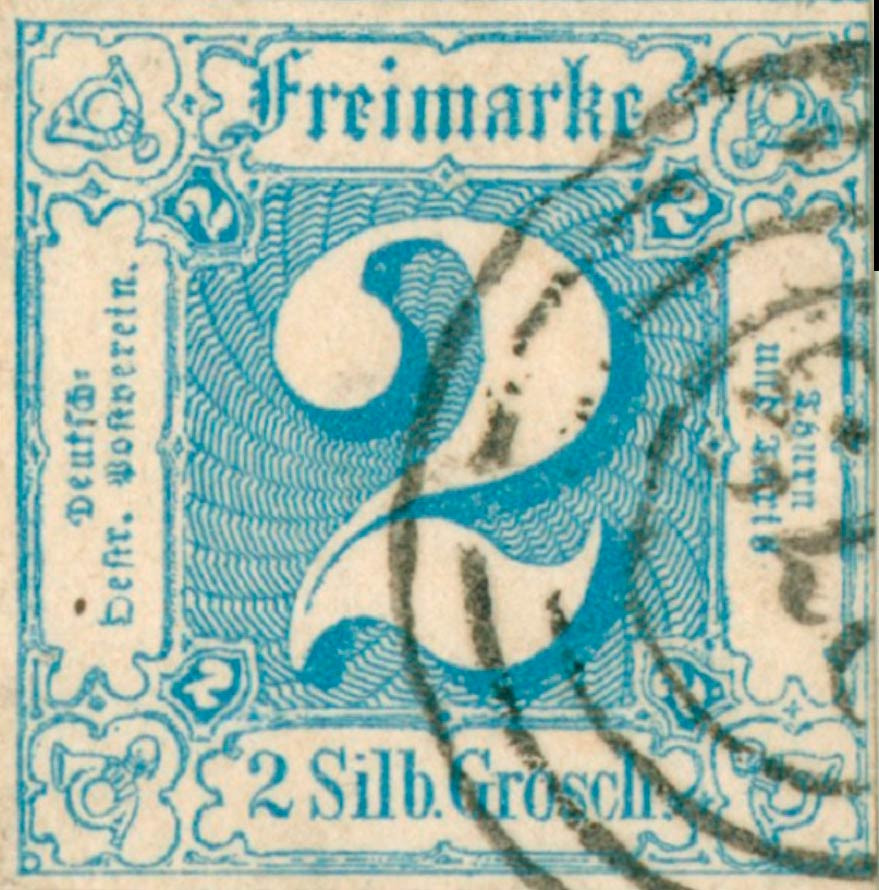Thurn_und_Taxis_1862_Mi30_2Sgr_Genuine