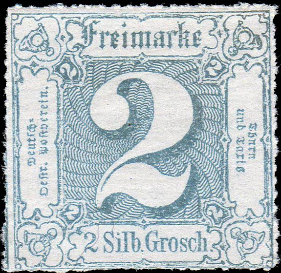 Thurn_und_Taxis_1865_Mi39_2Sgr_Genuine