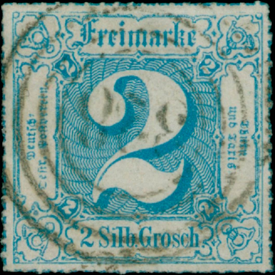 Thurn_und_Taxis_1867_Mi49_2Sgr_Genuine