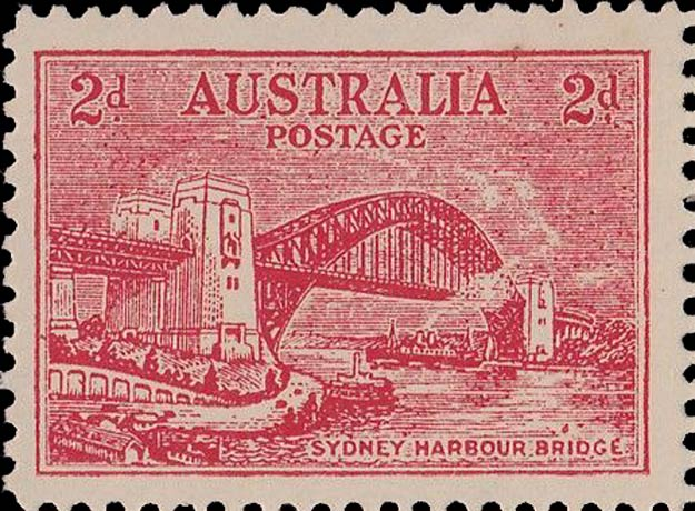 Australia_1932_Sydney-Harbor-Bridge_2d_Postal_Forgery