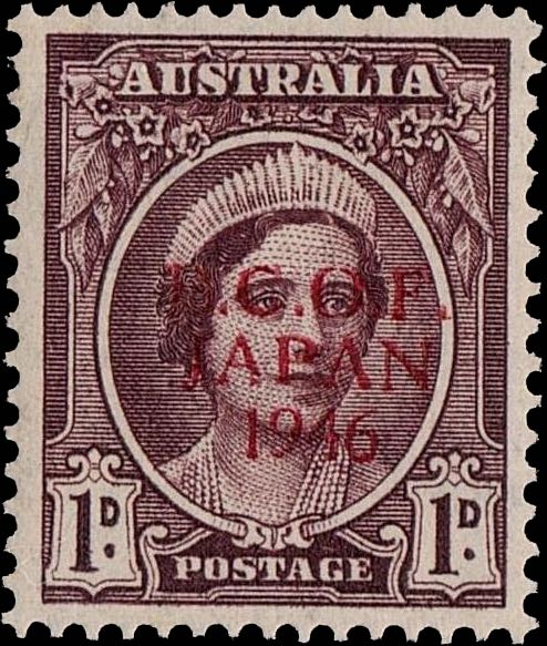 australia_1946_elizabeth_1d_proof_bcof_genuine
