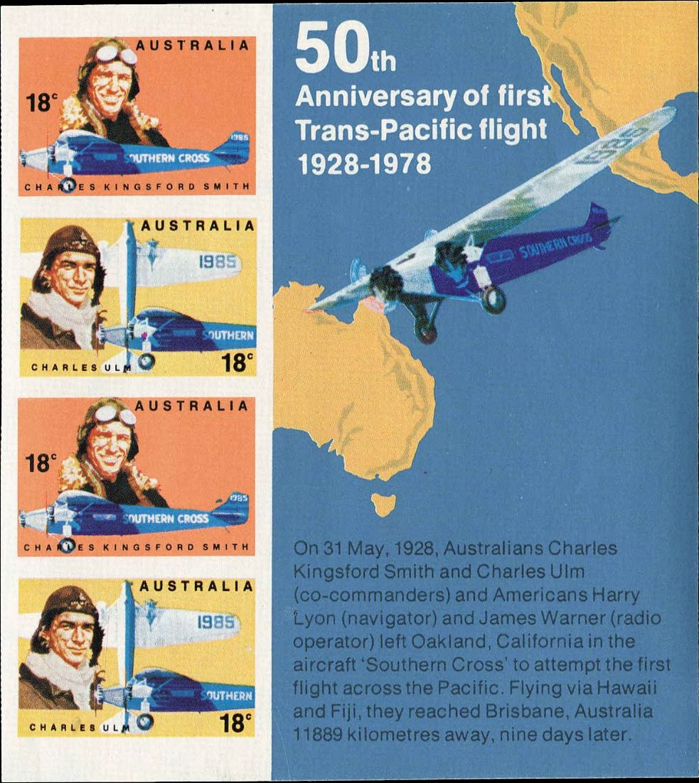 Australia_1978_Famous_Australian_Aviators_Postal_Forgery