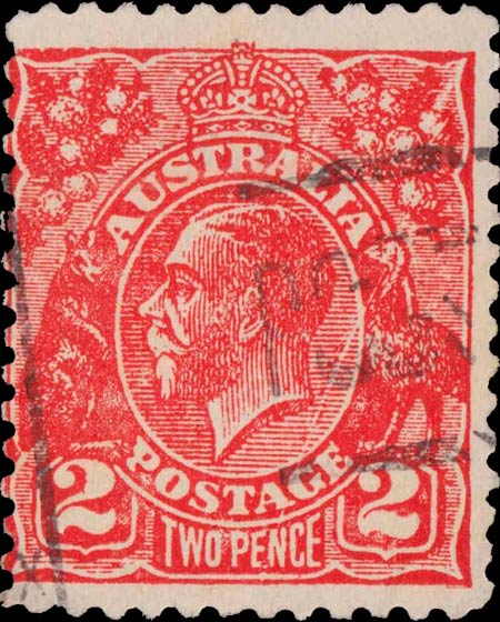Australia_KGV_2p_Postal_Forgery