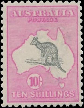 Australia_Kangaroo_10s_Reperforated