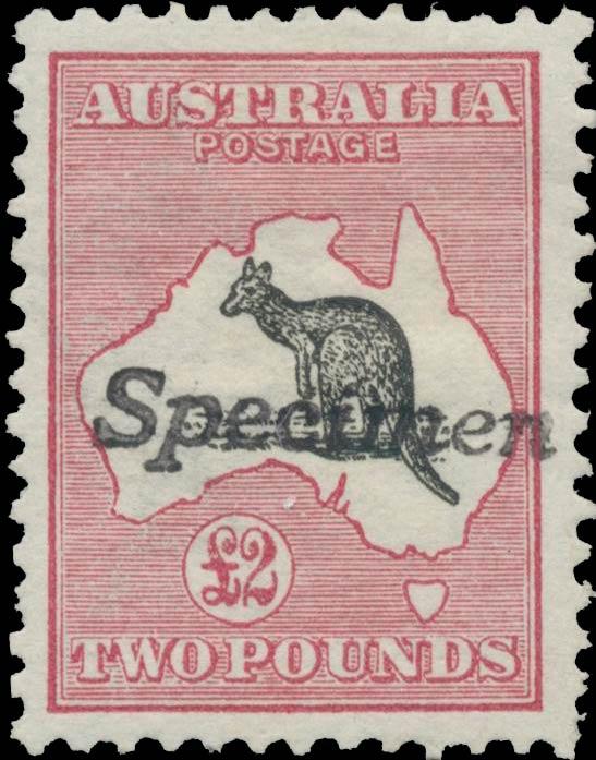 Australia_Kangaroo_2dollar_Specimen_Genuine