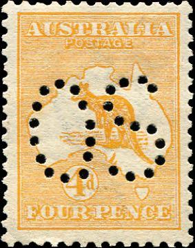Australia_Kangaroo_4d_Forged_OS_perfin