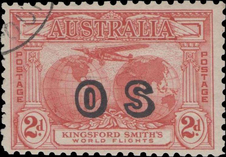 Australia_Kingford_Smiths_2d_OS_Reperforated