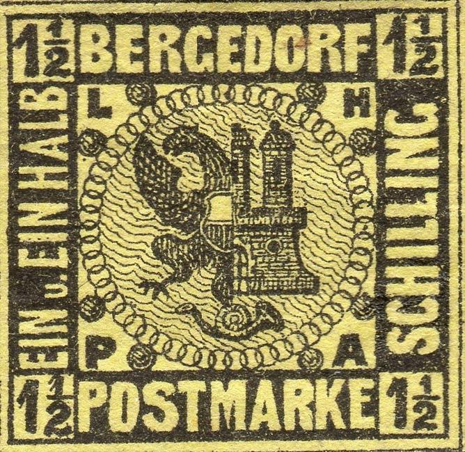 Bergedorf_1861_1.5Schilling_Genuine