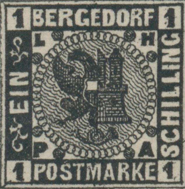 Bergedorf_1861_1sch_Genuine