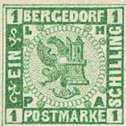 Bergedorf_1861_1sch_Green-Essay_Genuine
