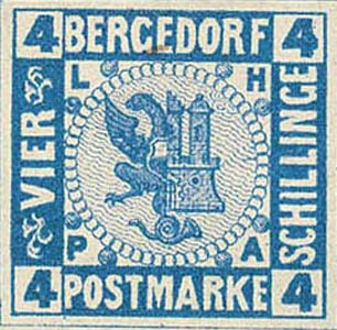 Bergedorf_1861_4Schillinge_Blue_Essay_Genuine
