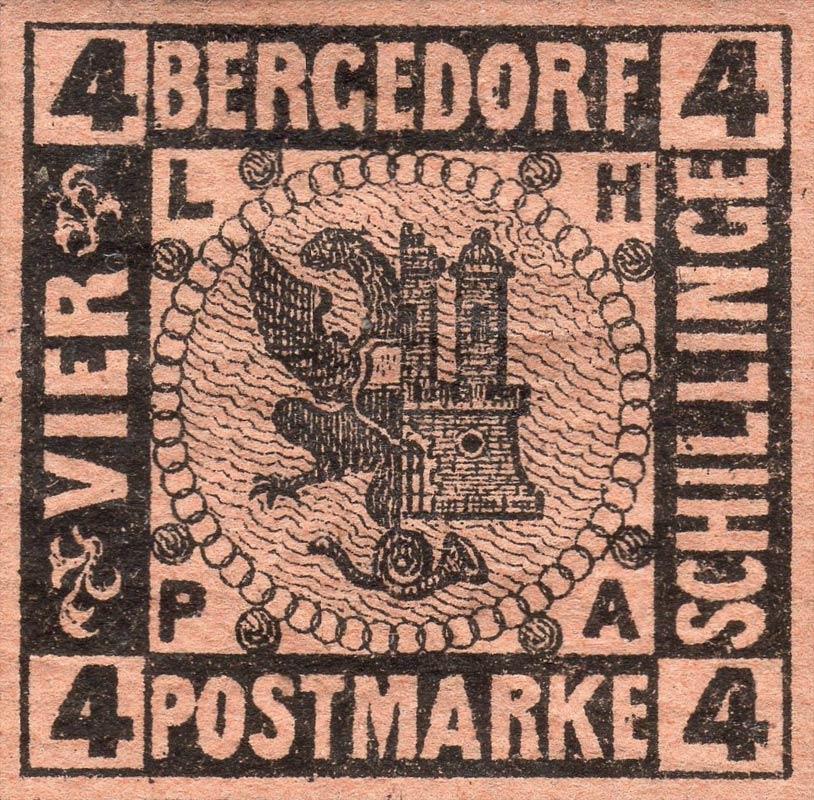 Bergedorf_1861_4Schillinge_Genuine