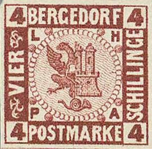 Bergedorf_1861_4Schillinge_Redbrown_Essay_Genuine