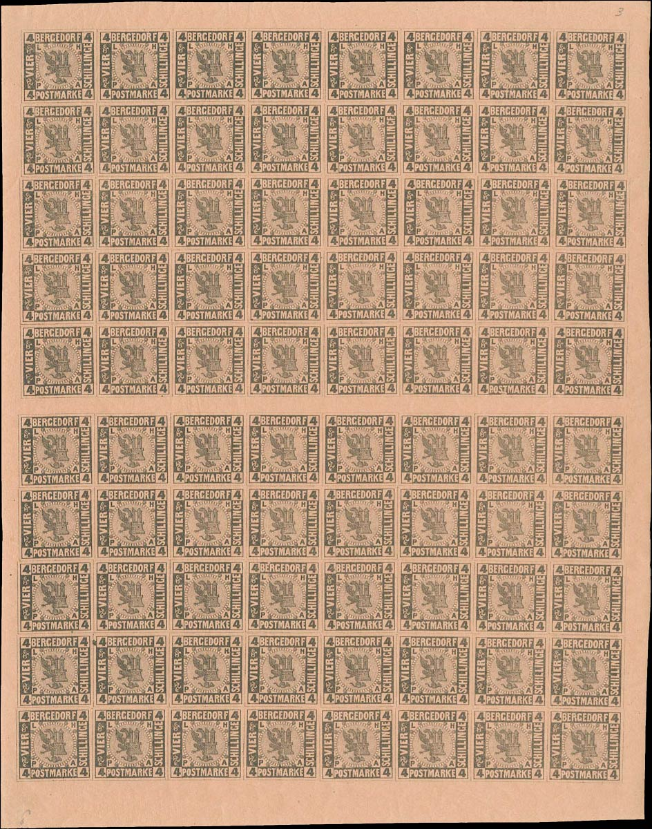 Bergedorf_1861_4Schillinge_Sheet_Genuine