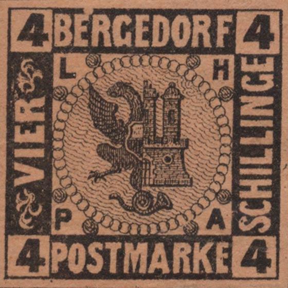 Bergedorf_1861_4Schillinge_Variety_Genuine
