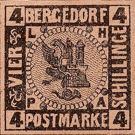 Bergedorf_1872_4Schillinge_Moens_Reprint