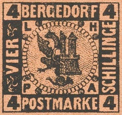 Bergedorf_1874_4Schillinge_Moens_Reprint
