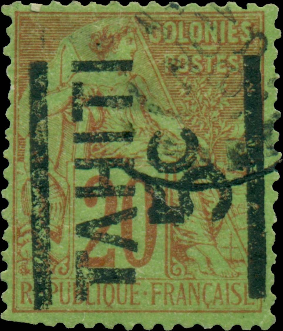 Tahiti_1882_5c-on-20c_Forgery
