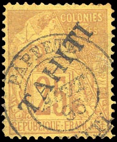 Tahiti_1893_25c_Forgery