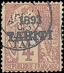 Tahiti_1893_4c_Forgery