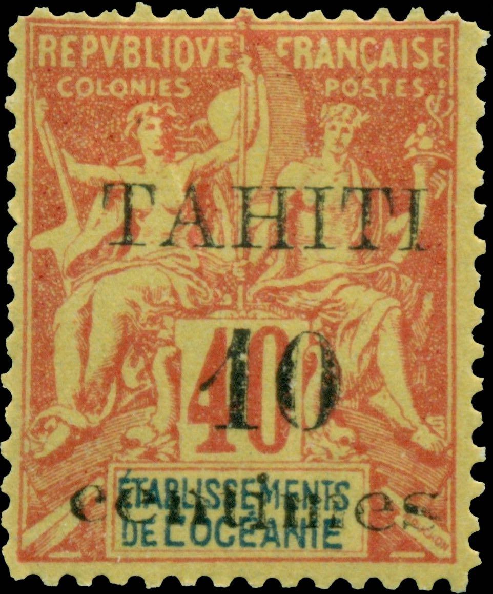 Tahiti_1903_10c-on-40c_Forgery2