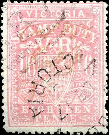 Victoria_Stamp-duty_18p_forgery3