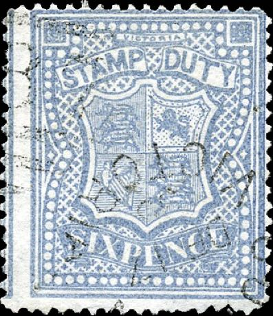 Victoria_Stamp-duty_6p_forgery2