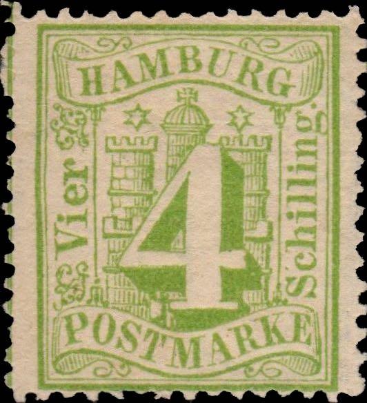 hamburg_1864_4schilling_genuine