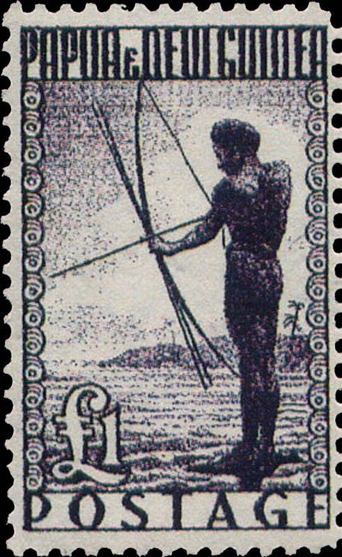 Papua_New_Guiana_1952_1pound_Forgery