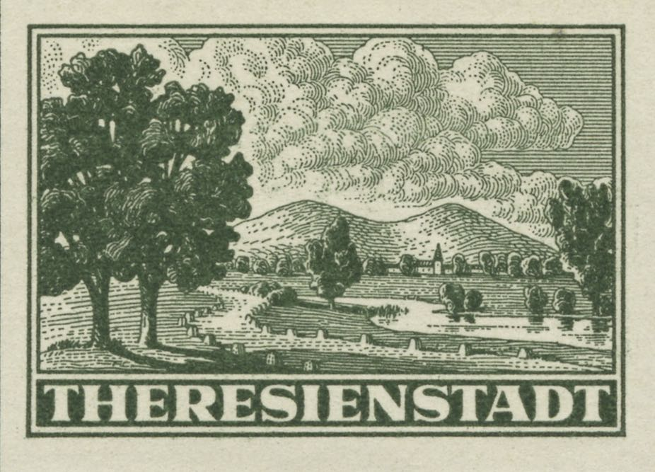 theresienstadt_unperforated_genuine