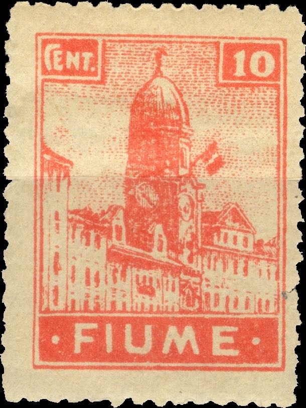 fiume_1919_city-hall_10c_forgery_type1