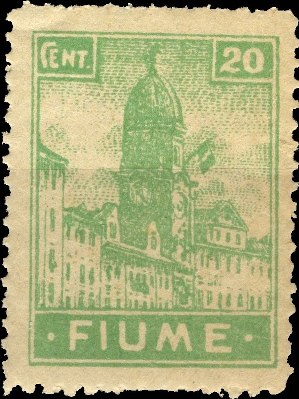 fiume_1919_city-hall_20c_forgery_type1
