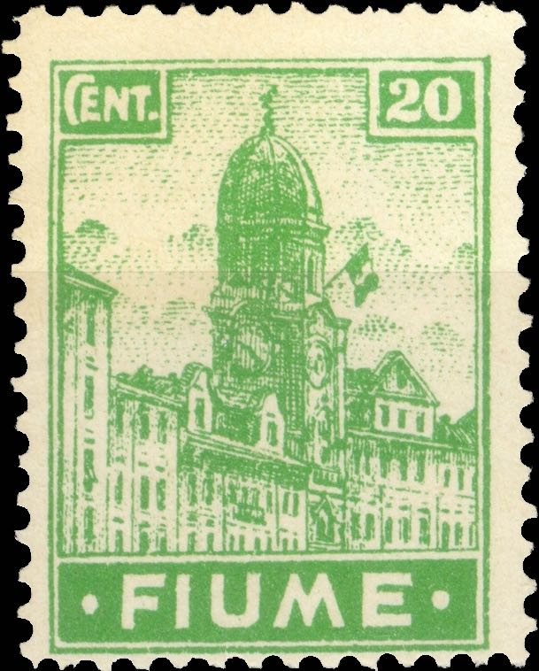 fiume_1919_city-hall_20c_forgery_type2