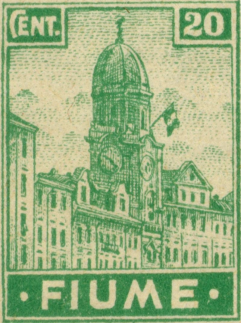 fiume_1919_city-hall_20c_genuine
