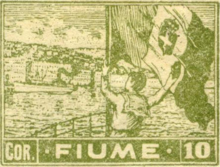 fiume_1919_harbor_10cor_forgery_type_1