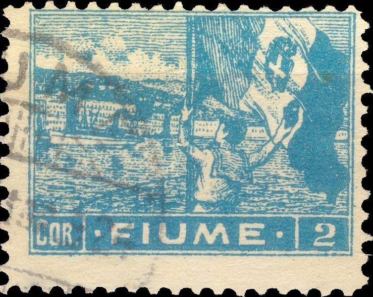 fiume_1919_harbor_2cor_forgery_type_3
