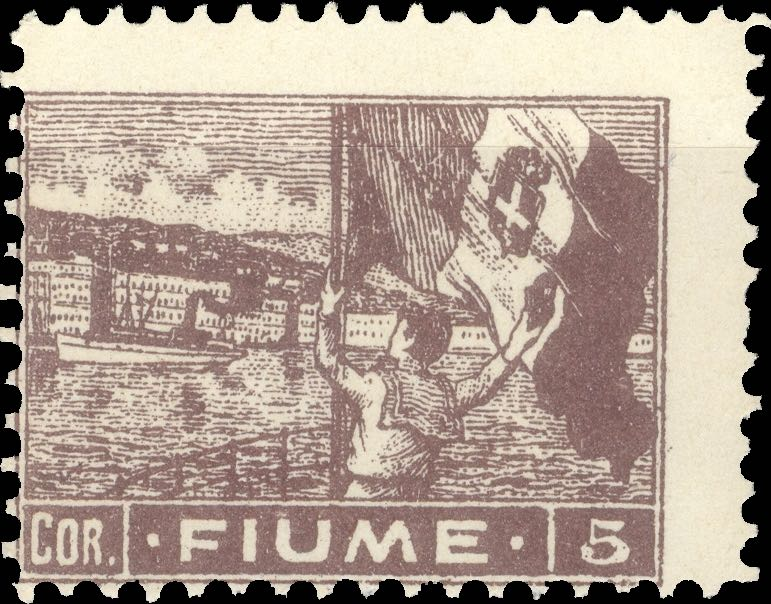 fiume_1919_harbor_5cor_forgery_type_2